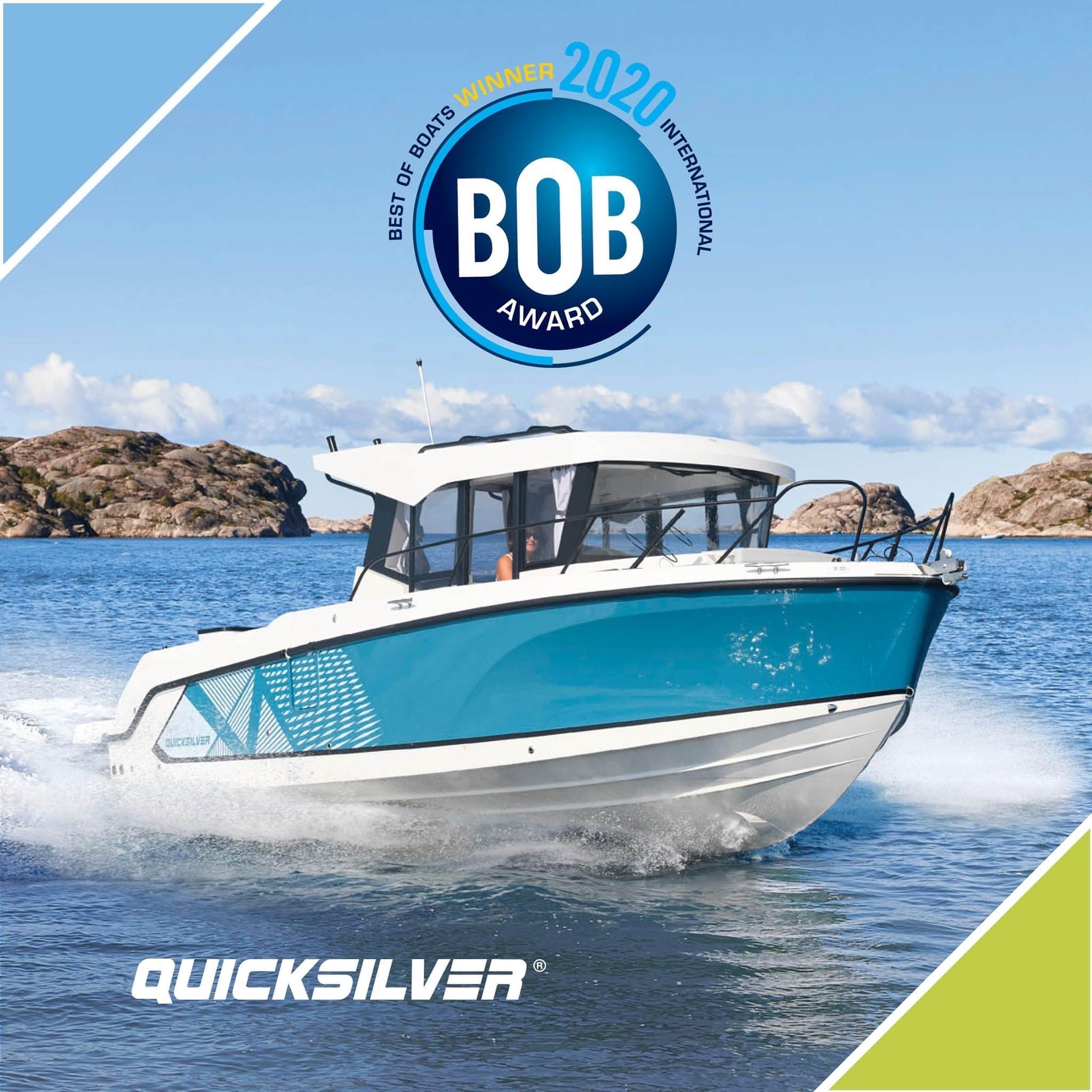 Quicksilver boat